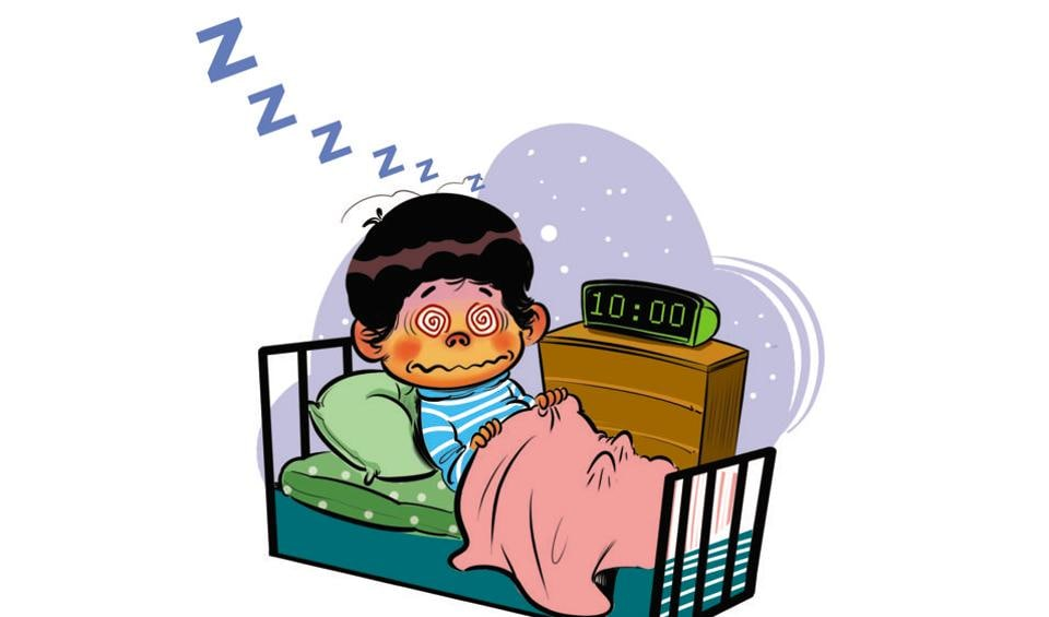 Patterns of sleep deprivation usually associated with adults are being noticed in Indian toddlers up to the age of three
