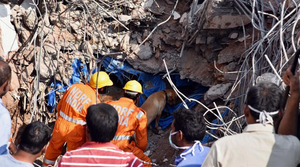 Hyderabad building collapse
