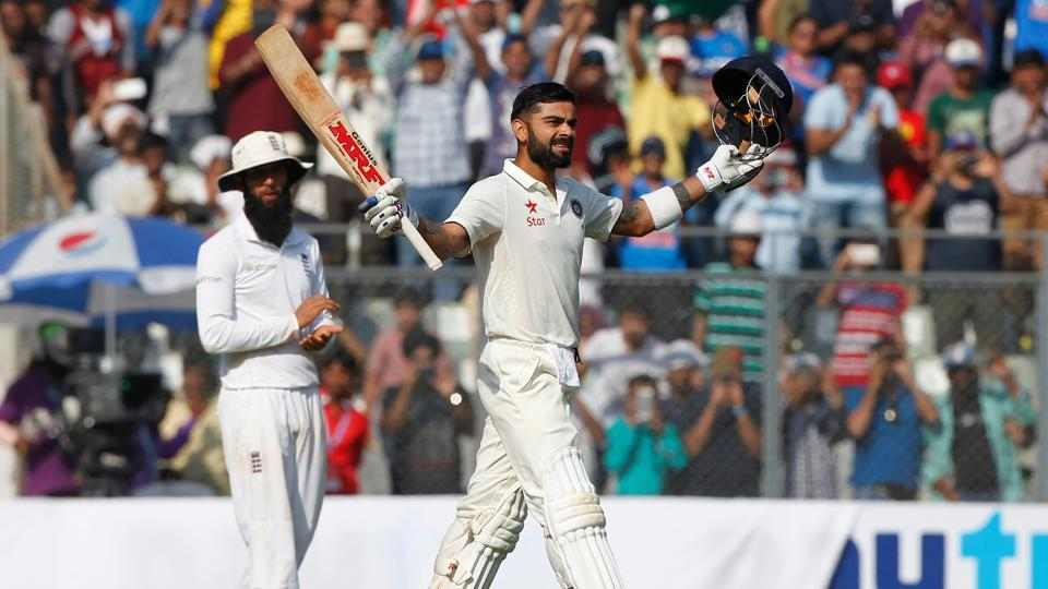 Virat Kohli became the 14th Indian batsmen and sixth quickest Indian player to go past 4000 runs in Tests (BCCI)