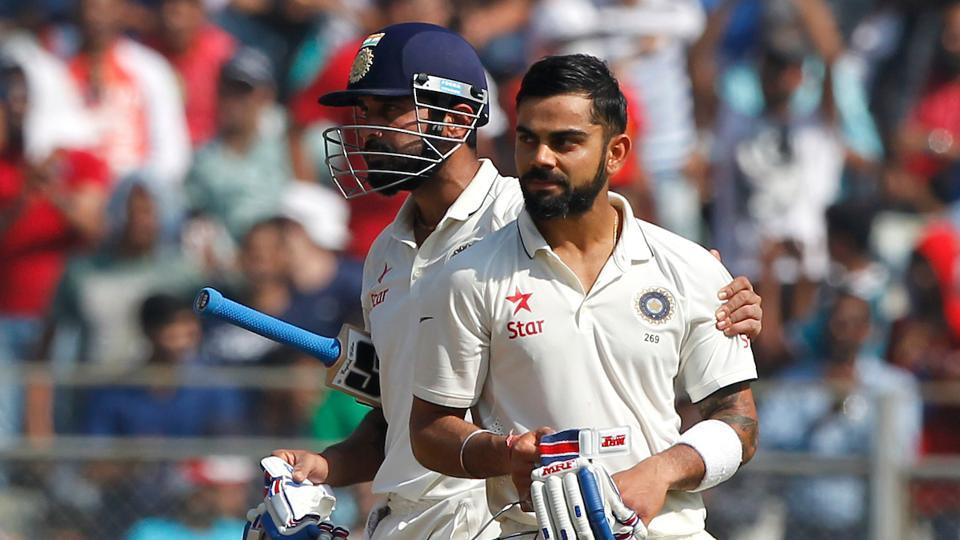 Virat Kohli and Murali Vijay's partnership had put India on course for England's 400. (Photo by: BCCI)