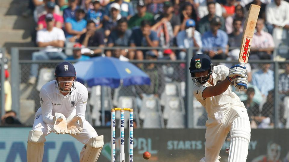 Virat Kohli started aggressively after the early loss of Cheteshwar Pujara. (Photo by:BCCI)