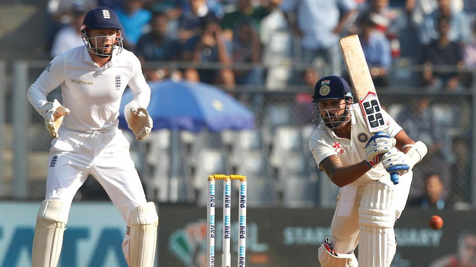Murali Vijay mixed caution and aggression to give India a steady platform. (Photo by: BCCI)