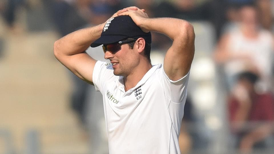 India vs England,Wankhede Test,Alastair Cook