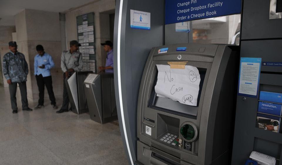 ATMs,cash crunch,demonetisation