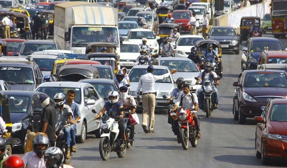 Demonetisation,Cars,Mumbai traffic
