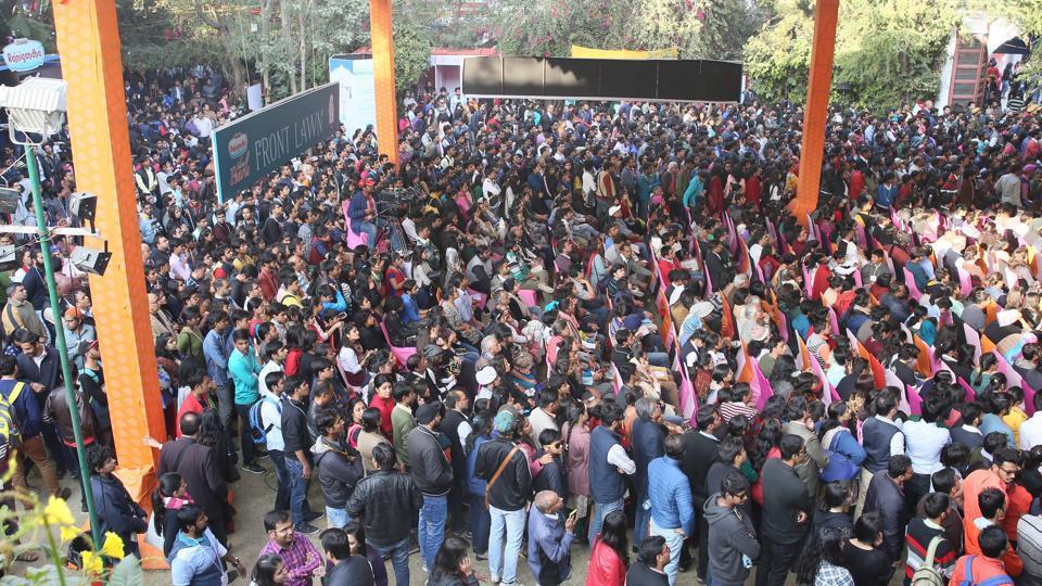 Piyush Jha,Vikram Seth,Patna Lit Fest