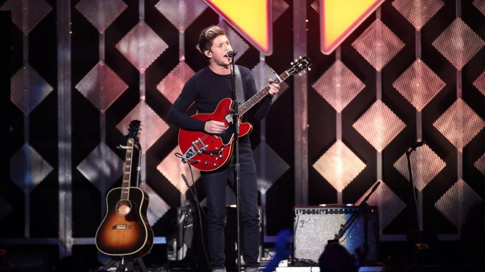 Niall Horan during his performance.  (REUTERS)