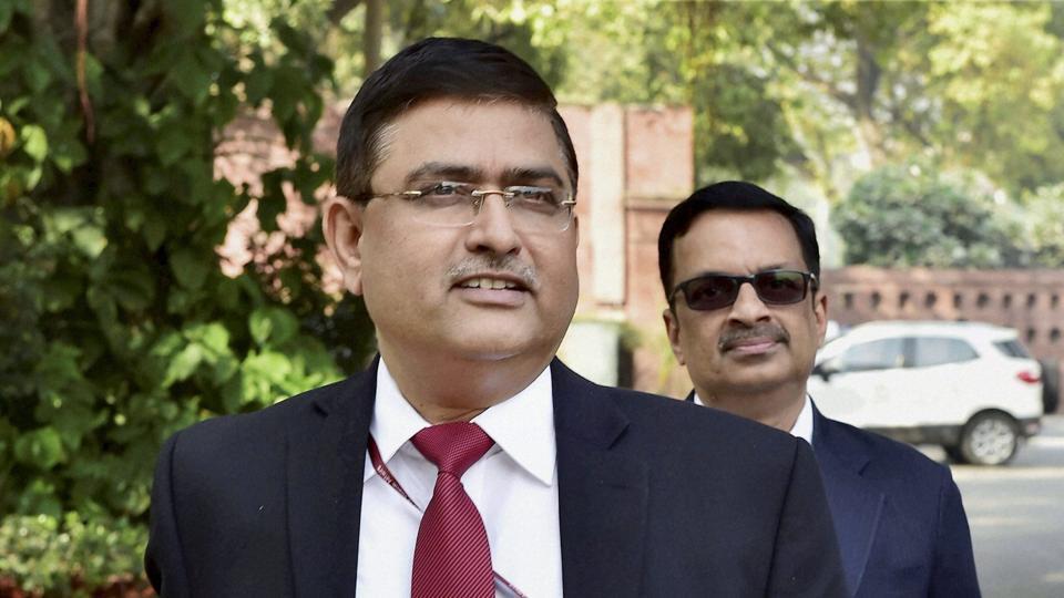 CBI interim director Rakesh Asthana at Parliament House in New Delhi on Wednesday.