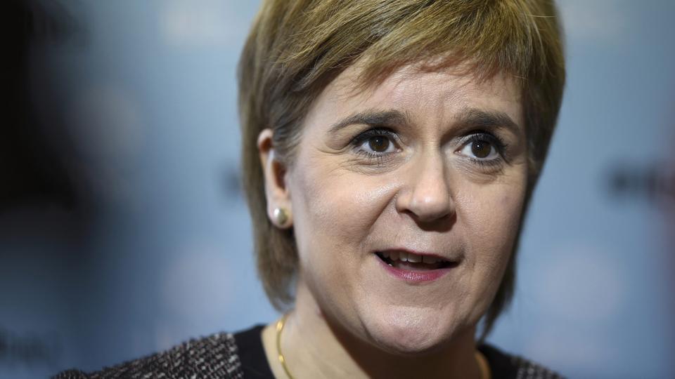 President-elect Donald Trump,Nicola Sturgeon,Scottish leader Sturgeon