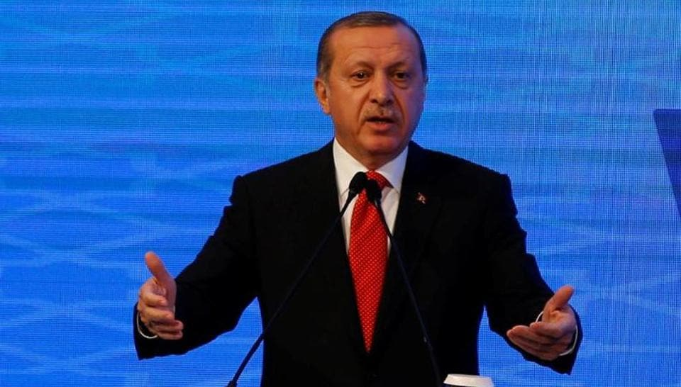 Turkey's ruling party on Saturday submitted a bill to parliament that could expand the powers of President Recep Tayyip Erdogan.