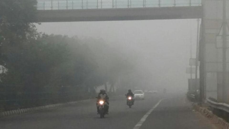 Early morning fog engulfed Delhi once again  and threw train schedules into disarray.