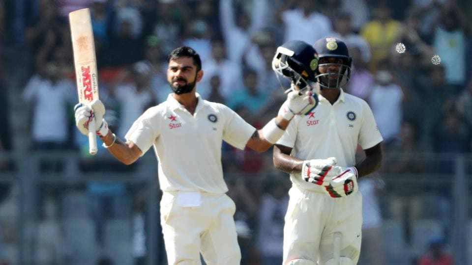 Virat Kohli smashed his third double century of 2016 and shared a record 241-run stand with Jayant Yadav as India closed in on a series win against England. (BCCI)
