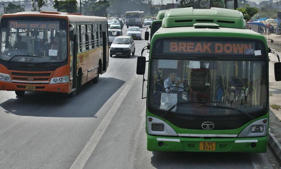 bus system,delhi's bus system,public transport