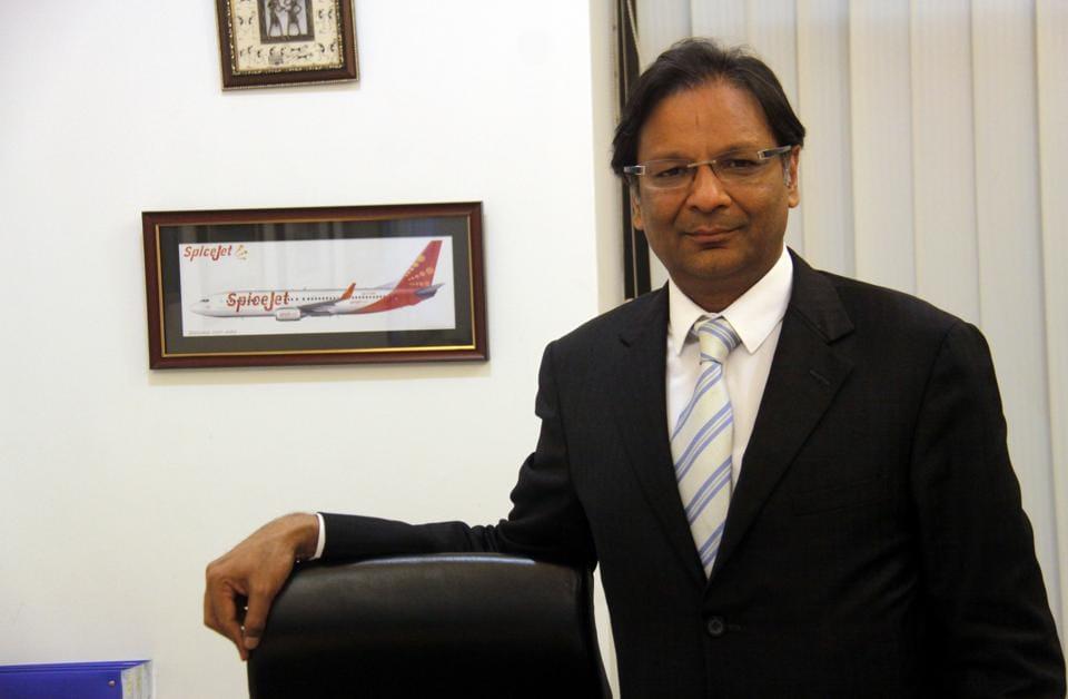SpiceJet CMD,SpiceJet,Ajay Singh