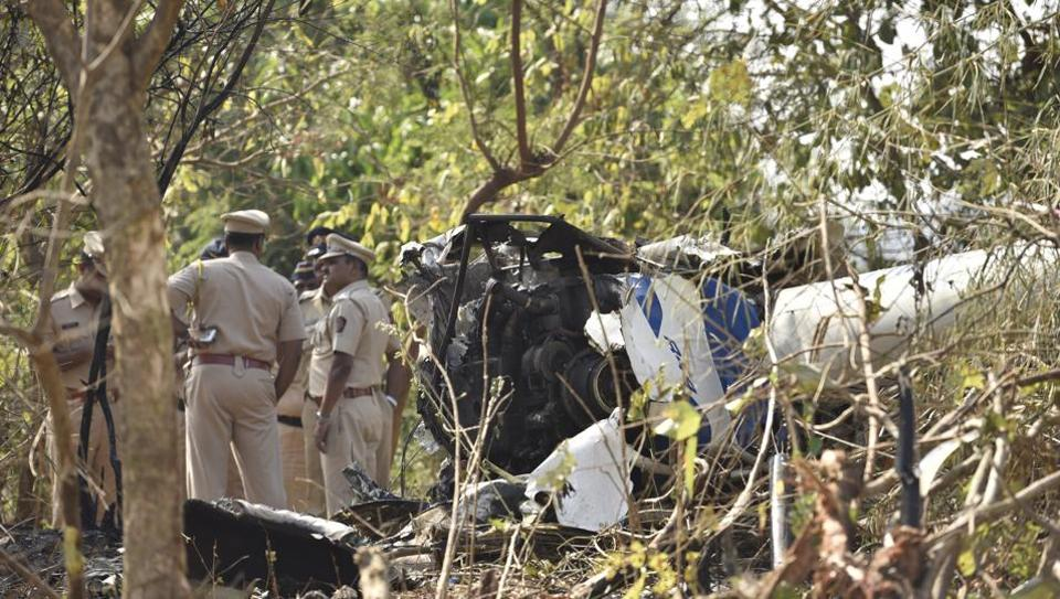 Mumbai helicopter crash,Mumbai chopper crash,Aarey Colony