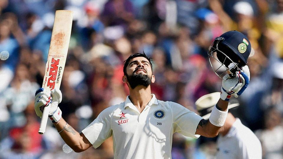 Virat Kohli scored 235, his career-best that also bettered a few other records, putting on a show for the packed Wankhede crowd during the fourth Test against England.