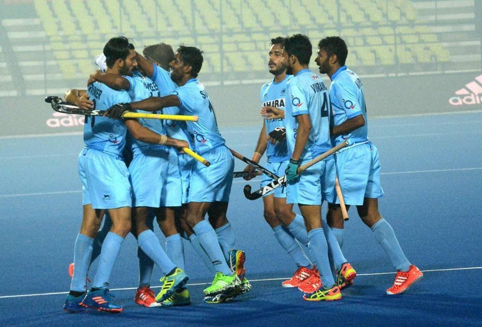 Indian team beat England 5-3 on Saturday.