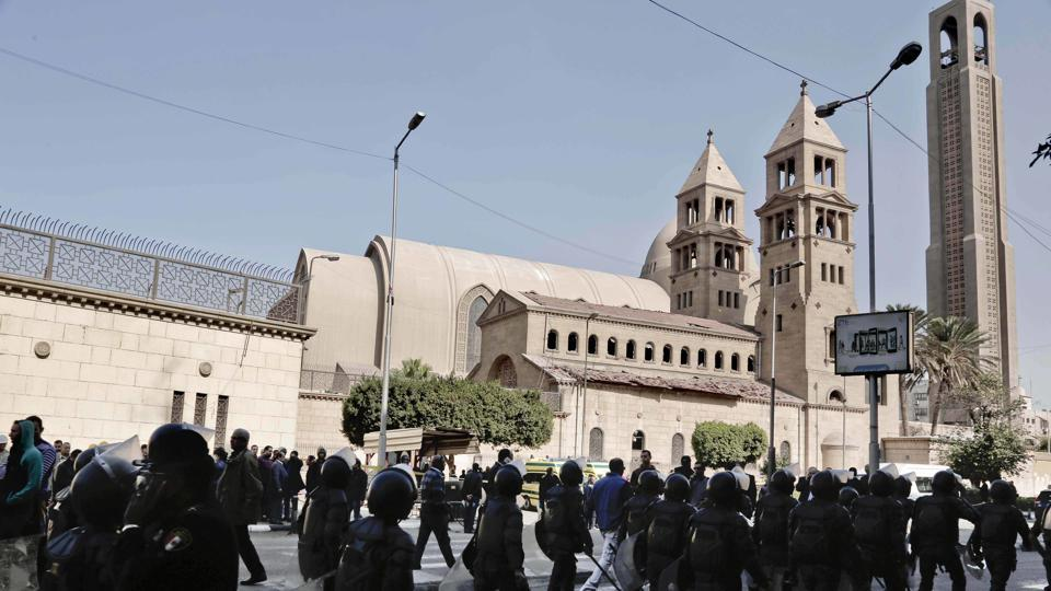 Cairo blast,Coptic cathedral,Egypt