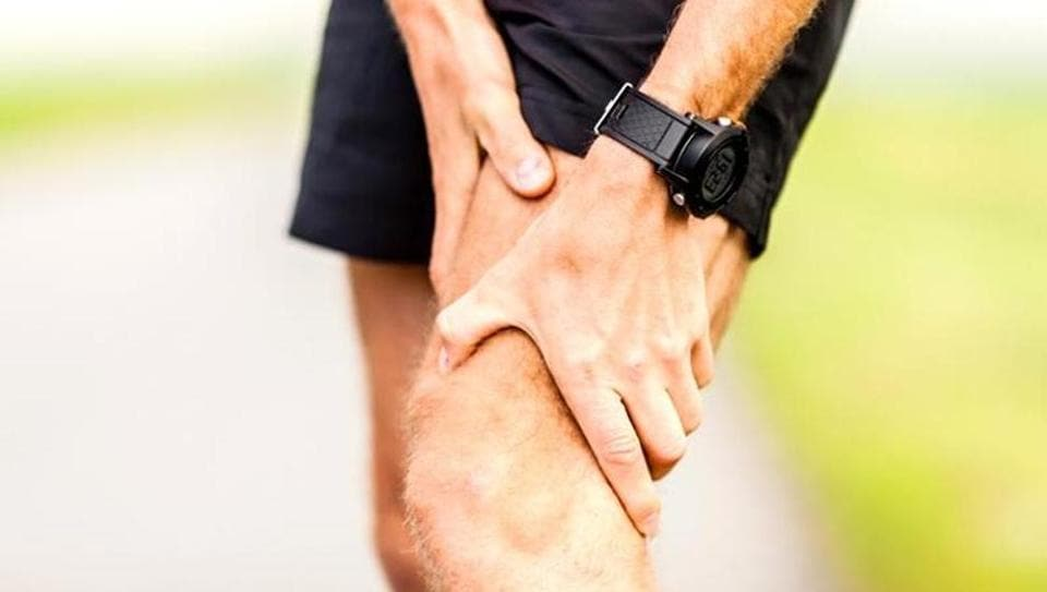 Knee joints,Running,Inflammation