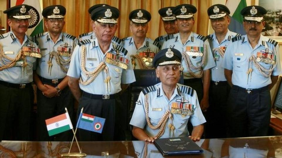 Former Indian Air Force chief SP Tyagi (sitting) has been charged by the CBI for alleged involvement in the kickback scandal over the Rs 37 billion AgustaWestland helicopter purchase