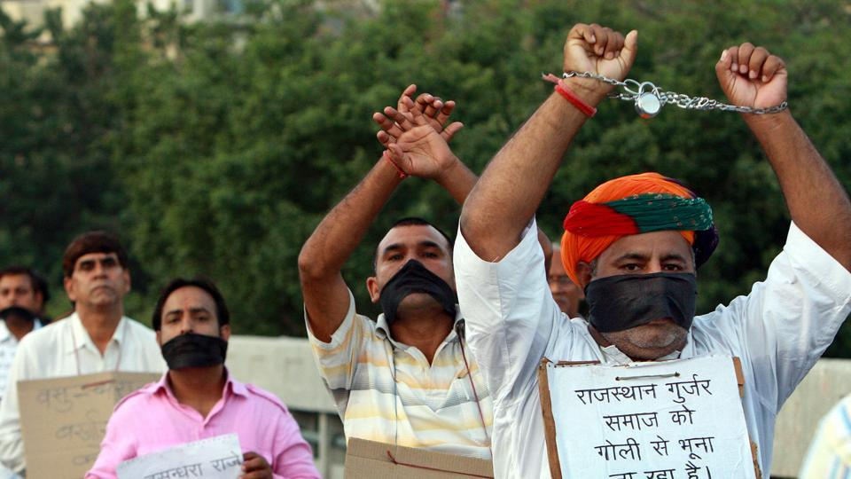 The Rajasthan government could be staring at another round of agitation