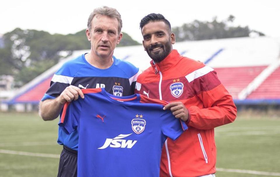 Bengaluru FC,Harmanjot Khabra,ISL