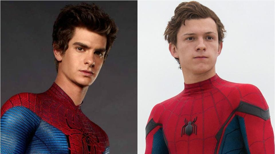 Andrew Garfield said he is a big fan of Tom Holland and he can't wait to see him doing some cool wall-crawling sequences.