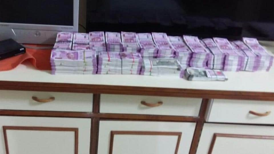 Assam police seized more than Rs 1.5 crore in new currency notes from a businessman's house in Guwahati.