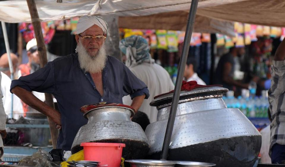 Biryani sellers stopped selling gosht biryani after authorities collected biryani samples to test for beef.