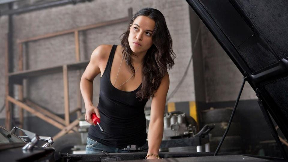 With the first trailer for The Fate of the Furious out, we brought together all the women of the Fast & Furious series. Michelle Rodriguez as Letty Ortiz, Dom's wife and a professional street racer, who was revealed to have suffered from amnesia after being presumed dead in Fast & Furious. (Universal) (Universal)