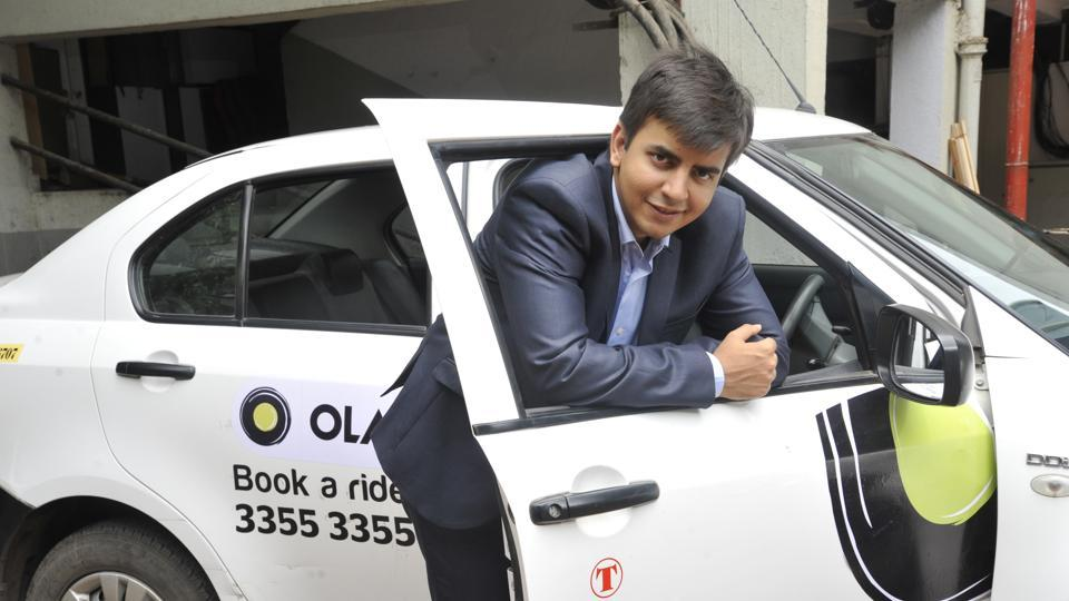 Bhavish Aggarwal, co-founder and CEO, ANI Technologies that runs Ola Cabs.
