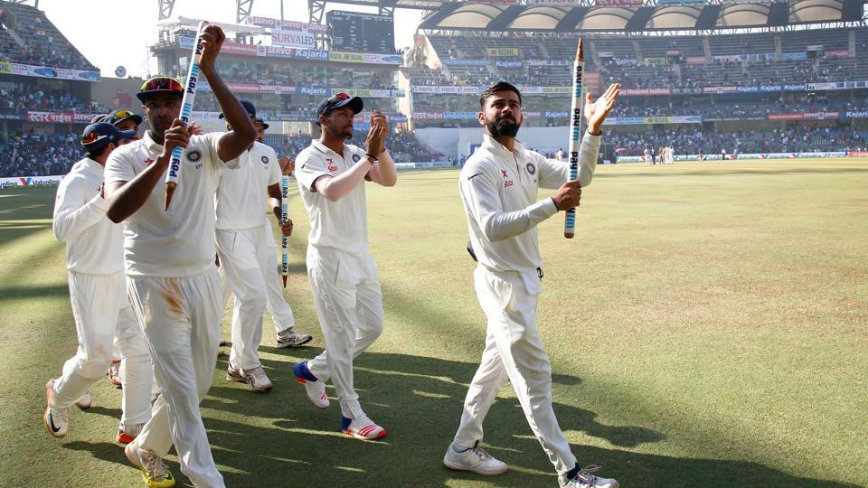 Virat Kohli and Ravichandran Ashwin have been the key players in India's resurgence to the top of the Test rankings. (Photo by: Deepak Malik/ BCCI/ SPORTZPICS)