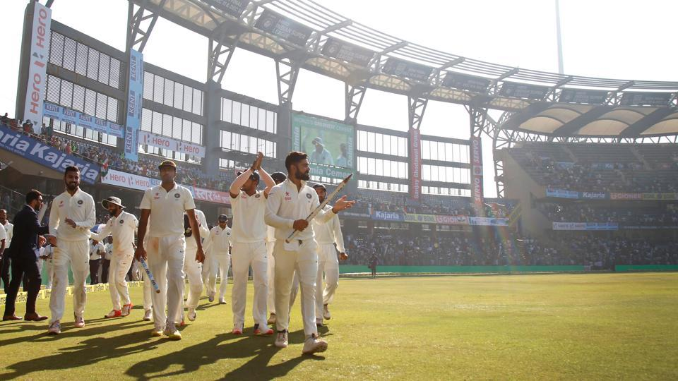 India broke the Wankhede jinx as they defeated England at this venue for the first time since 1993. (Photo by: Deepak Malik/ BCCI/ SPORTZPICS)