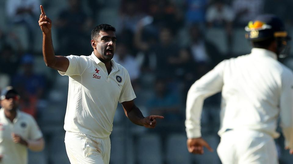 Ravichandran Ashwin picked up his 24th five-wicket haul and seventh 10-wicket haul as India thrashed England by an innings and 36 runs to take a 3-0 lead in the five-match series.