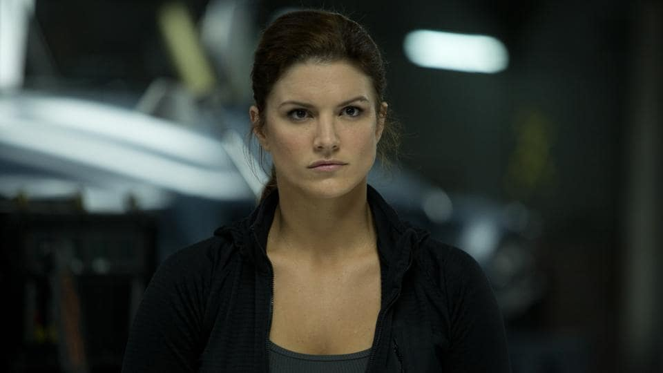 Gina Carano, the MMA fighter played Riley Kicks, the right hand woman of Dwayne Johnson's character in Fast & Furious 6. (Universal)