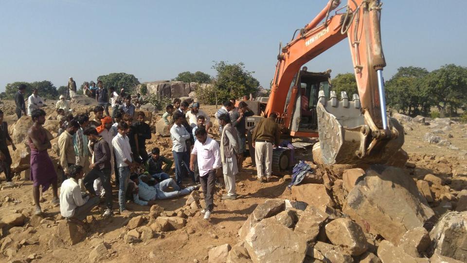 illegal miners kill Chhattarpur farmer