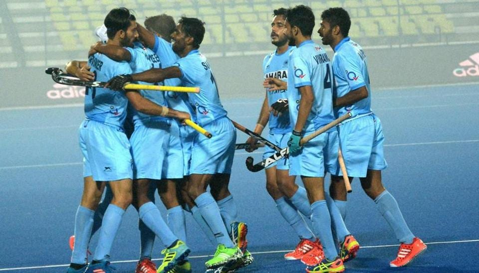 Indian team beat England 5-3 in a hockey junior World Cup match on Saturday.