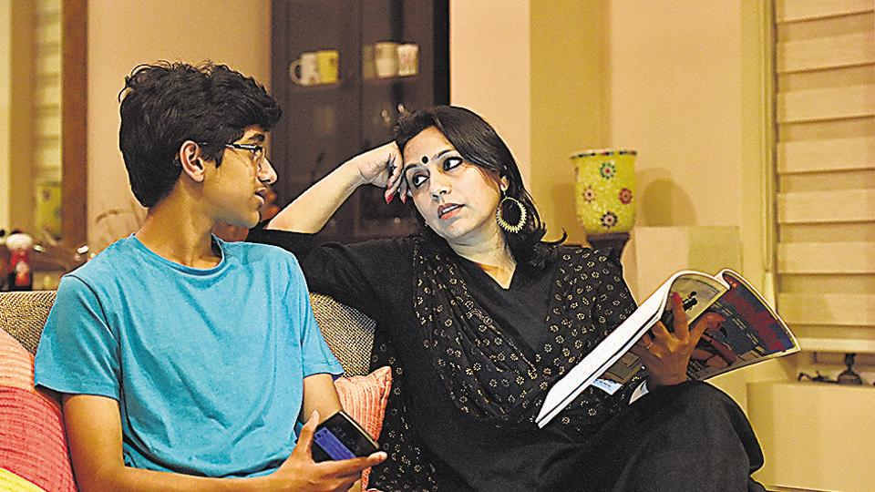 Preeti Agarwal Mehta, mother to 15-year-old Suyansh, tells her son to be a proud feminist and bring about change.