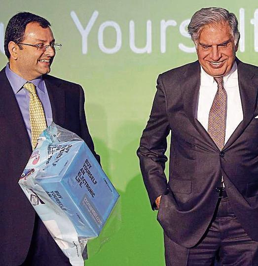 Ratan Tata,Cyrus Mistry,Tata Industries