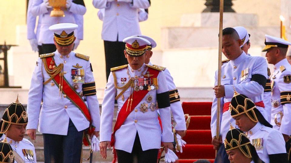 Thailand's new King Maha Vajiralongkorn Bodindradebayavarangkun (R) in Bangkok, Thailand.