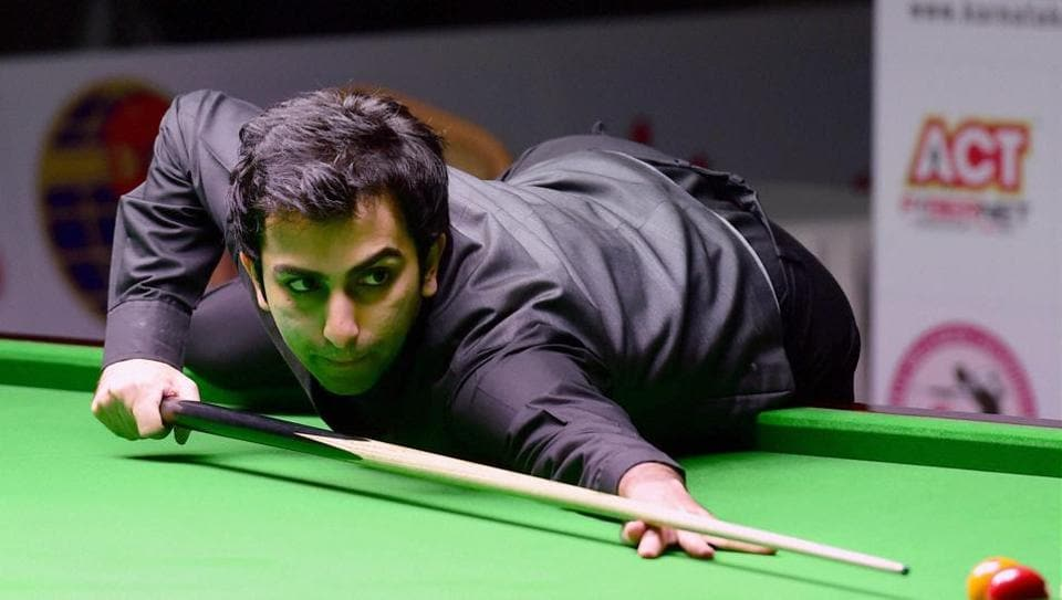 Pankaj Advani beat Peter Gilchrist by six games to three in the 11th World Billiards Championships.