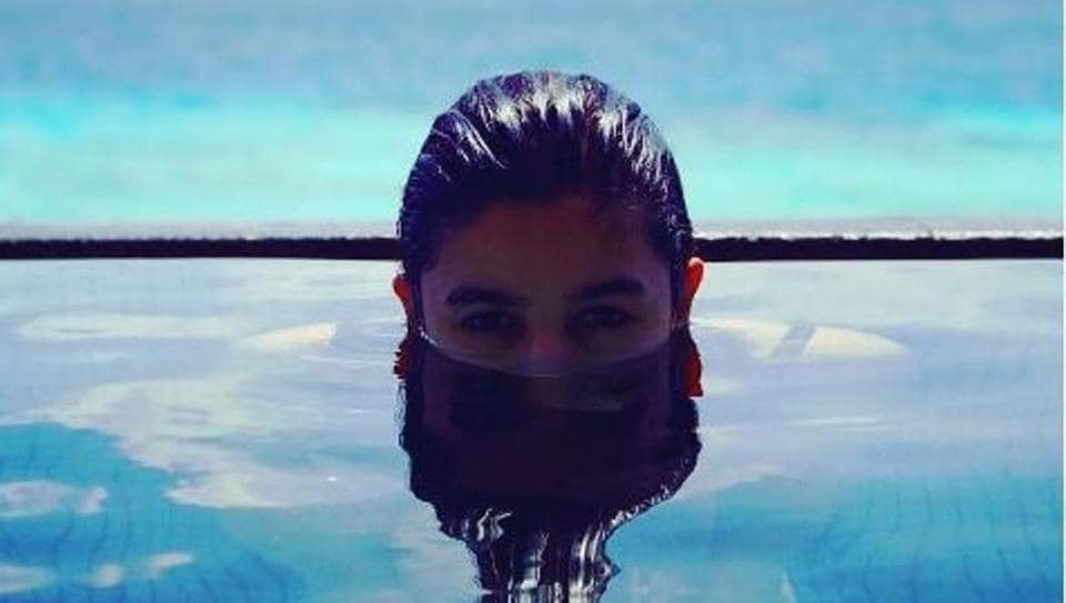 Alia Bhatt, who recently completed the shoot of her upcoming film Badrinath Ki Dulhania with Varun Dhawan, headed to Maldives for a well-deserved long break.