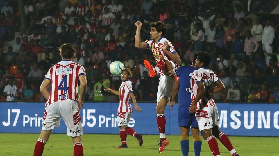 Atletico de Kolkata held Mumbai City FC to a goalless draw in the ISLsemifinal second leg.