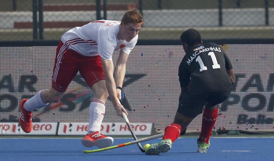 Edward Horler proved to be unstoppable at the Major Dhyan Chand Stadium, as his hat-trick helped England score a 6-0 win over Canada.