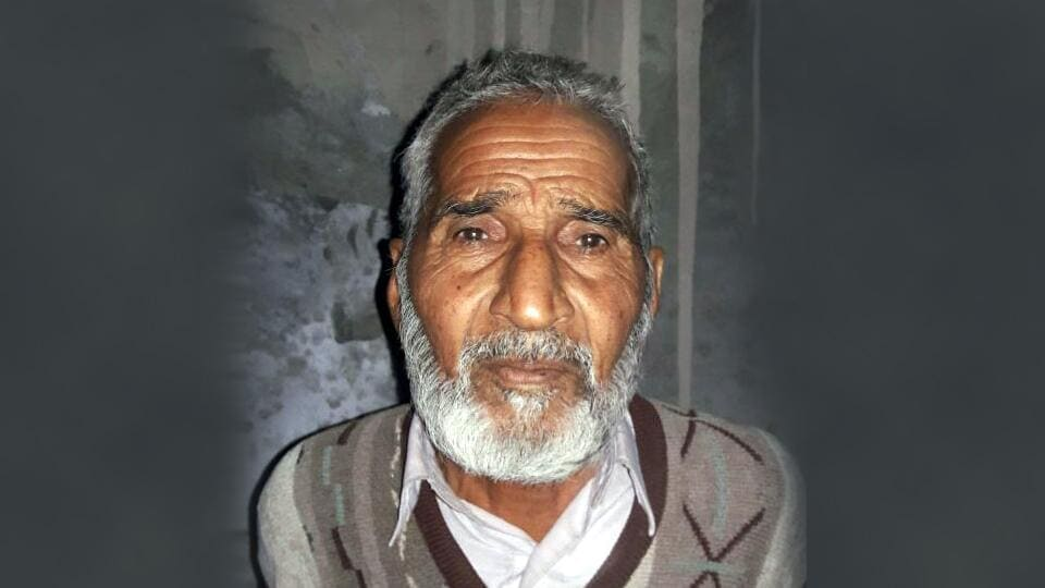 Pakistan ex-serviceman Mohammed Baksh arrested by the BSF in Ramgarh sub-sector.