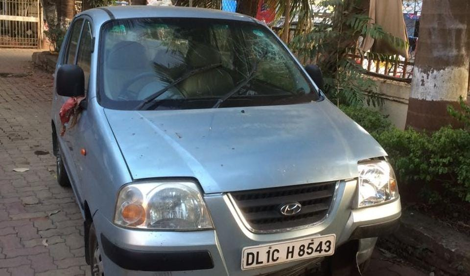 Driver Sangeeta Santoshkumar Rai was driving and the children were on their bicycles and were crossing the road when the car came and hit them.