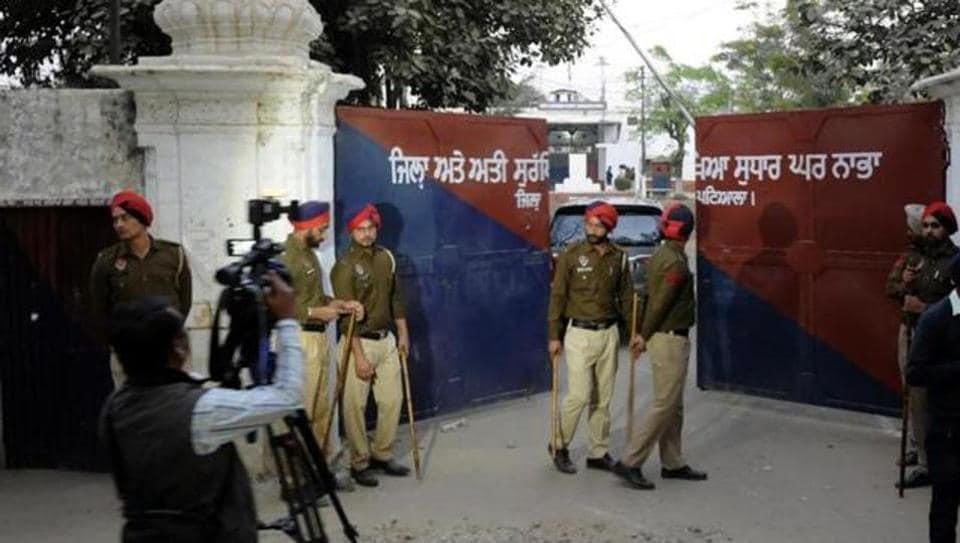 Nabha Jailbreak,Punjab police,Cop suspended in Punjab