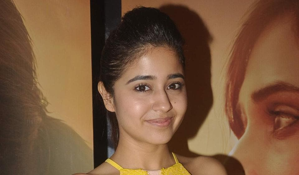 Actor Shweta Tripathi (above) came to the rescue of Lisa Haydon when the latter couldn't get some of her dialogues in Hindi right.