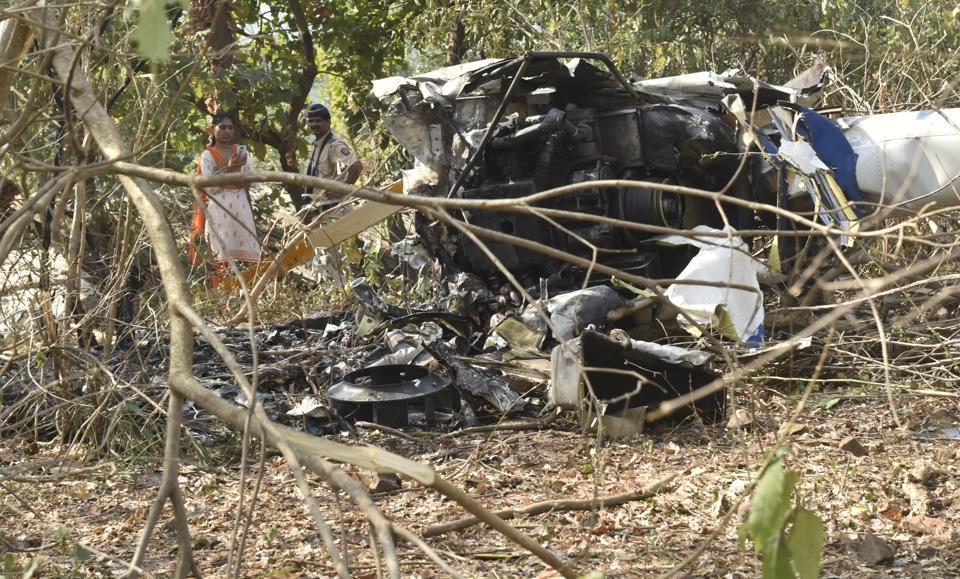 Mumbai,Helicopter crash,Aarey Colony