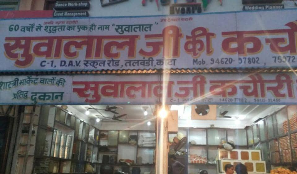 Suvalal Ji Ki Kachori in Kota has been selling kachoris since 1960.
